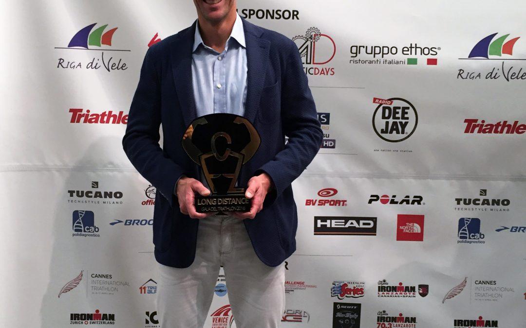 """Alessandro Degasperi vince la 4ª edizione del """"Gala del Triathlon"""""""