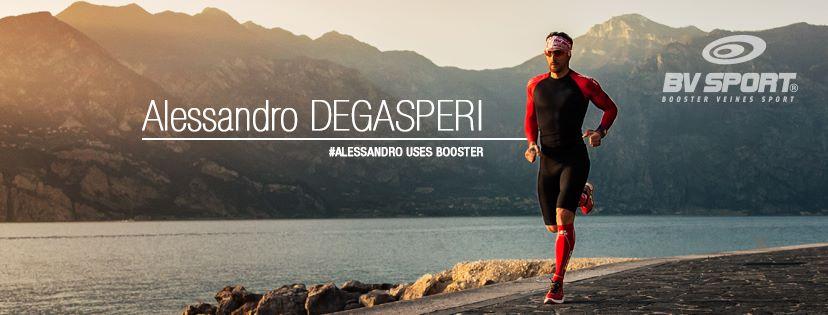 Alessandro Degasperi è il nuovo testimonial per BV SPORT