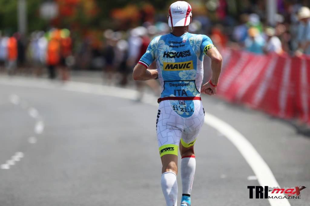 Ironman Kona Alessandro Degasperi durante la frazione run dell'IM WORLD CHAMPIONSHIP 2016 (Photo courtesy: Jacky Everaerdt_trimax-mag.com)