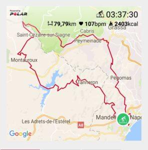 Ceepo VIPER-R Piooner Cyclo Polar Cannes International Triathlon Cannes France Palm Beach Andorra Perpignan Golfe du Lion Toulon Marseille Cannes Polar V800